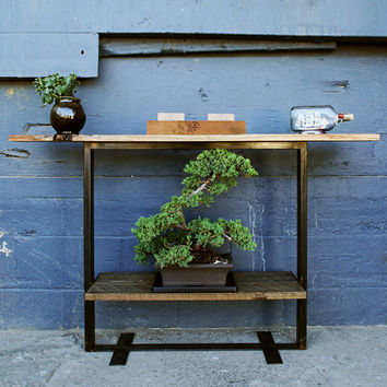 Reclaimed Barn Wood Console Table