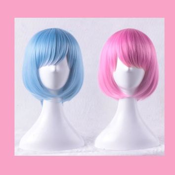Pastel Cosmo Wigs