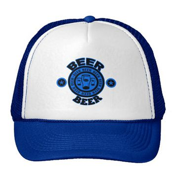 Beer Beer Beer! - Blue Trucker Hat