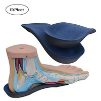 EXPfoot EVA Flat Foot Orthotics insoles  Arch Support Half Shoe Pad Orthopedic Insoles Foot Care for Men and Women size 36 to48