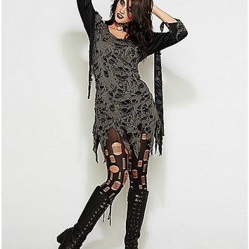 Fierce Flesh Eater Zombie Adult Womens Costume - Spencer's