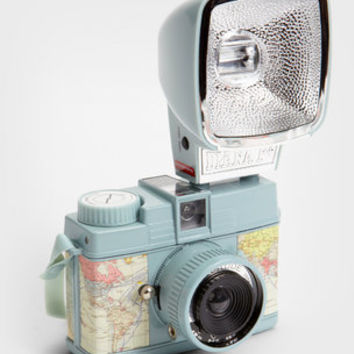 Lomography Mini Map Diana Camera & Flash