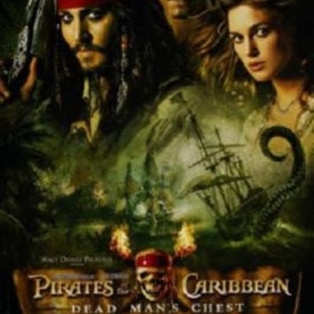 Pirates Of The Caribbean Dead Man's Chest Movie Poster 11x17 Mini Poster
