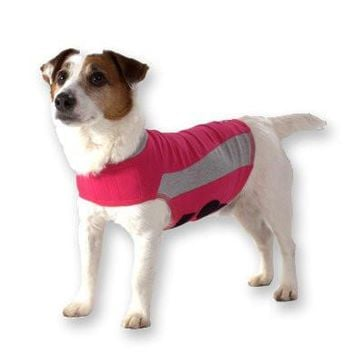 Thundershirt Anti-Anxiety Dog Jacket Size: XXS Pink
