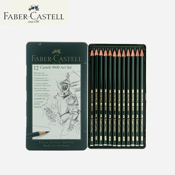 Faber Castell Pen Colored Pencils for Drawing Creative School Supplies 12 Colored Pencils Lovely Stationery  Birthday Present