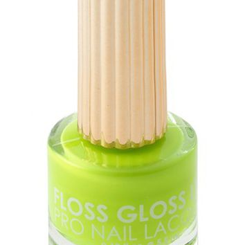 Floss Gloss 'Con Limon' Matte Nail Lacquer | Nordstrom