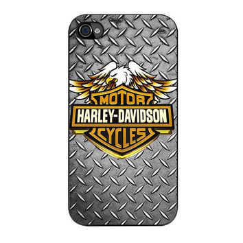 harley davidson motorcycle logo iPhone 4 4s 5 5s 5c 6 6s plus cases