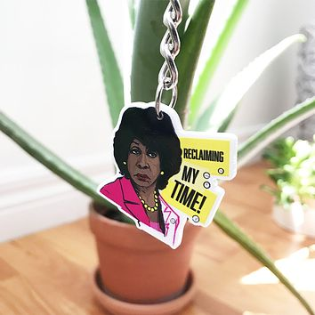 Maxine Waters Keychain