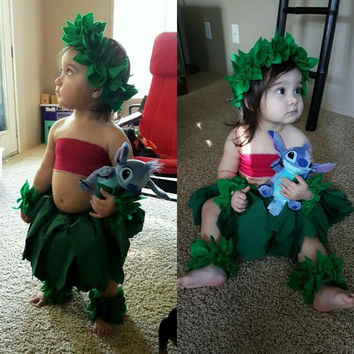 Handmade Lilo and Stitch Costume