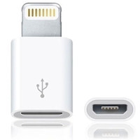 switch port for lightning to MICRO USB adapter turn 8PIN for iphone5/6 plus support ios8 Charge And Data Transfer free shipping