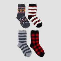Kids' 4pk Crew Socks - Cat & Jack™