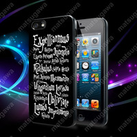 Harry Potter Black Magic Spells Case For iPhone 5, 5S, 5C, 4, 4S and Samsung Galaxy S3, S4