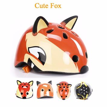 Creative Children Bicycle Helmet Cute Shark Safety Skating Cycling Helmet Sports Capacete Casco Ciclismo Kask Bike Accessories