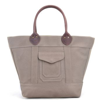 #50816 Waxed Canvas Tote Bag