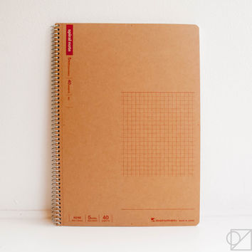 Basic Spiral Ring Notebook 5mm Grid