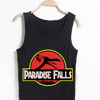 disney up paradise falls Casual Wear Sporty Cool Tank top Funny Tank Cute Direct to garment