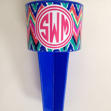 Lilly Pulitzer Monogram Wrapped Sand Spike