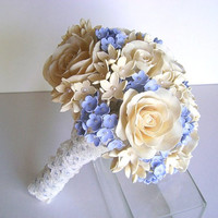 Wedding Bouquet Bridal Bouquet Vintage Style Wedding Accessories-Deposit for Custom Order