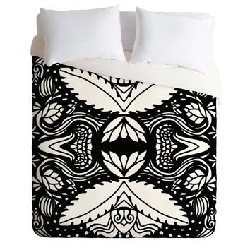 Paula Ogier Aviation Duvet Cover