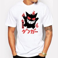 Pokemon Go Gengar Short Sleeve T-Shirt