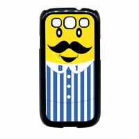 Bananas iPhone Banana Mustache Samsung Galaxy S3 Case