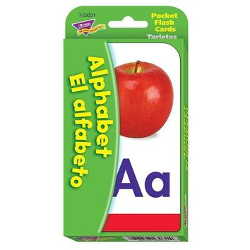 POCKET FLASH CARDS ALPHABET EL