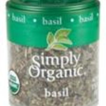 Simply Organic Mini Basil C/S (6x.18 Oz)