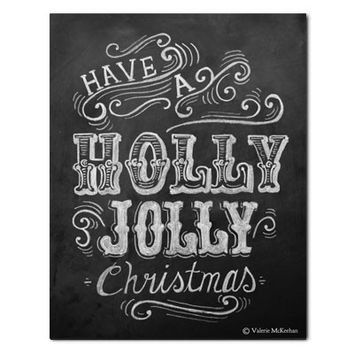 Holly Jolly Christmas - Print