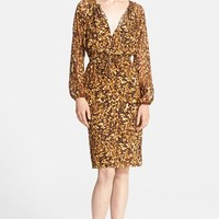 Women's Altuzarra Tortoise Print Silk Dress,