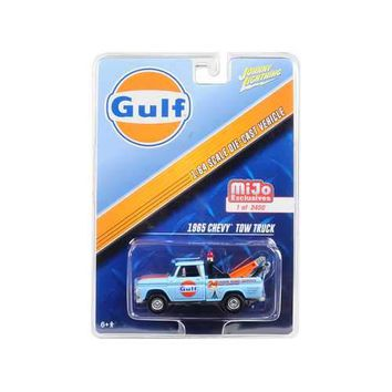 "1965 Chevrolet Tow Truck ""Gulf"" Limited Edition to 3600 pieces Worldwide 1/64 Diecast Model Car by Johnny Lightning"
