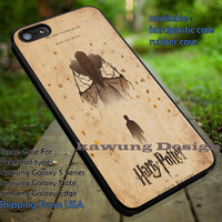 Harry Potter and The Deathly Hallows Poster Vintage iPhone 6s 6 6s+ 5c 5s Cases Samsung Galaxy s5 s6 Edge+ NOTE 5 4 3 #movie #HarryPotter dt