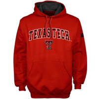 Texas Tech Red Raiders Scarlet Automatic Hoodie Sweatshirt