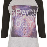 Space Out Raglan Top By Project Social T - Tops  - Clothing