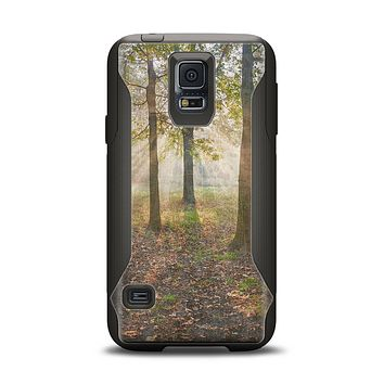 The Vivia Colored Sunny Forrest Samsung Galaxy S5 Otterbox Commuter Case Skin Set