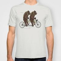 grizzly days lets tandem T-shirt by bri.buckley