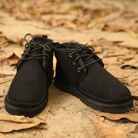 UGG Man Fashion Edgy Strappy Flats Casual Shoes