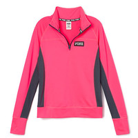 Ultimate Half Zip - PINK - Victoria's Secret