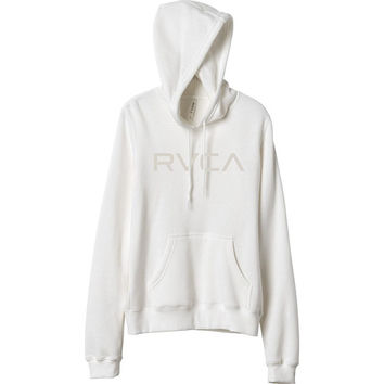 RVCA Junior's Raised Fleece Pullover Hoodie