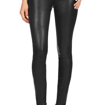 J Brand Jeans - L8430 Leather Jamie Biker by J Brand