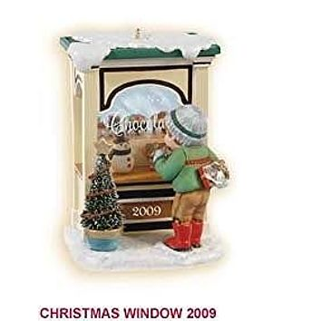 Christmas Window 2009 Hallmark Ornament