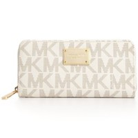 MICHAEL Michael Kors Jet Set Travel Wallet | macys.com