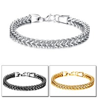 Gift Hot Sale Stylish Awesome New Arrival Great Deal Shiny Men Titanium Accessory Strong Character Bracelet [10783259523]