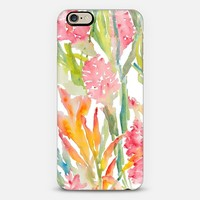 Tropical Floral, Pink Ginger iPhone 6 case by Pineapple Bay Studio | Casetify