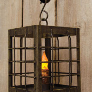 Rustic Post Lantern-Assorted Sizes