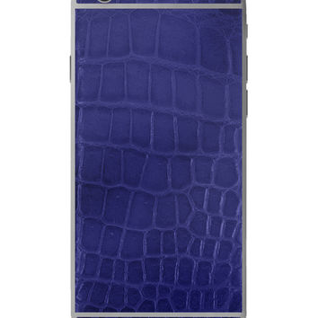 Hadoro IPhone 6S Signature Alligator Blue