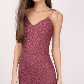 Cool Intentions Lace Bodycon Dress