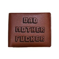 Pulp Fiction Bad Mother F*cker Wallet MoFo Embroidered