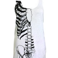 Iron Fist Caged Viscose White Tank - Buy Online at Grindstore.com