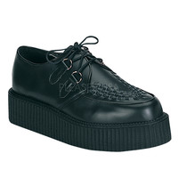 Creeper 402S Black Leather Men's Sizes 4-13