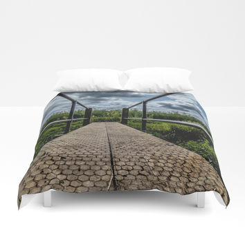 long grass Duvet Cover by Jack28